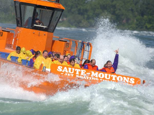 Jet Boating on the Rapids